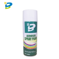 Wholesale Fast Dry Multi Purpose 400ML Aerosol Spray Paint No CFCs from china suppliers