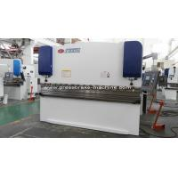 Buy cheap Sheet Metal Manual Press Brake 100T Capacity Electric Sheet Metal Brake from Wholesalers