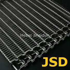 Wholesale Conveyer Belt Mesh / Assembled Belt /  Flat Wire Conveyer Belt Mesh / Baffle Plate Conveyer Belt Mesh from china suppliers