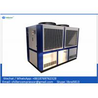 China 109kw 30 TR Industrial Air Cooled Water Chiller Scroll Compressor Chiller on sale