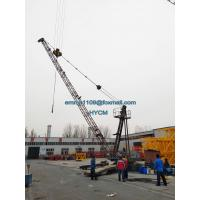 China D3015 Derrick Tower Crane 30mts Luffing Jib 1.5tons Tip Load FOB Price for sale