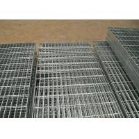 Wholesale Stainless Steel Grating Platform Pitch 30mm x 100mm , Galvanised Steel Grating from china suppliers