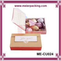 Wholesale Lovely cute candy gift paper box/Customized Luxury Cardboard Brown Square Box ME-CU024 from china suppliers