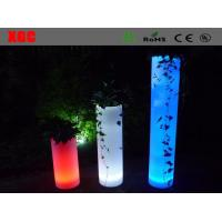 Wholesale Plastic Light Up Multi Colors Round  Led  Decorative Furniture For Outdoor from china suppliers