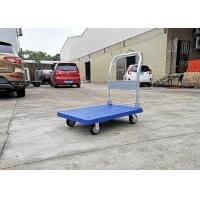 Buy cheap PP Materials Plastic Folding Platform Hand Trolley With Silence Wheels , Carton Box Package from wholesalers
