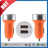 Quality Two USB Ports 3.1A Portable USB Car Charger for iPhone 6 6 plus / iPad air for sale