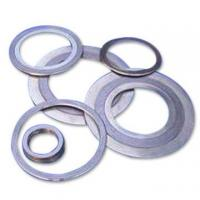 China SS 304 / 316 Graphite Spiral Wound Gasket Thin Type With Inner / Outer Ring on sale