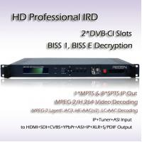Wholesale RIH1301_ISDB-T/TB Professional IRD ISDB-T/TB Receiver MPEG-4 HD Video Decoding HD-SDI HDMI Output from china suppliers