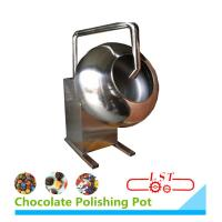 Wholesale SSS304 Material Chocolate Coating Equipment For Chocolate Beans 1 Year Warranty from china suppliers