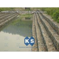 Wholesale Heavy Zinc Coated Gabion Basket Retaining Wall8x12cm To Protect Riverbank from china suppliers