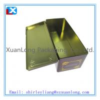 Wholesale Rectangular Gift Tin Box for Wine from china suppliers