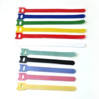 Wholesale Reusable Coloured Hook Loop Hook And Loop Cable Ties For Shoes , SGS ROHS Approved from china suppliers