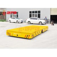 China Heavy Load Automated Steerable Battery Powered Trailer With Car Warning Light on sale