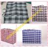 PP Woven fabric material plaid tarpaulin bags/shopper bag material for sale