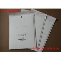 Wholesale Shock Resistant Poly Bubble Mailers , Bubble Mailer Envelope With White Color from china suppliers
