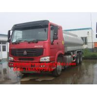 Wholesale 25000L Oil Tanker Truck 6X4 from china suppliers