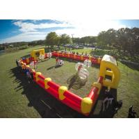 Wholesale 1.0mm TPU Human Hamster Bumper Ball , Outdoor Toys Inflatable Body Ball For Kids And Adult from china suppliers