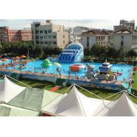 Wholesale Safety Frame Adult Inflatable Amusement Park With Fire Resistant PVC from china suppliers