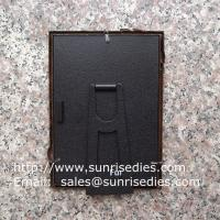 Quality Metal rose picture frames in stock, emboss rose metal photo frames wholesaler in for sale