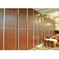 Fabric Wooden Free Standing MDF Partition Wall  For Banquet Hall for sale