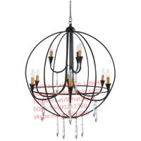 Wholesale YL-L1021 Hot sale wood pendant lamp vintage hanging light for home or bar decor metal ceiling lamp from china suppliers