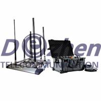 Wholesale 1500m Jamming Range Drone Signal Jammer 300 W High RF Power Remove Control from china suppliers