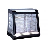Wholesale Electric Heating Cake Display Cabinet Counter Top 3-Layers Glass Food Warmer Showcase from china suppliers