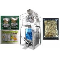 Wholesale Small Puffing Snack Food Bagging Machine With Ten Heads Weigher 20 - 500g / Bag from china suppliers