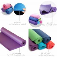 Wholesale Eco Friendly PU natural rubber Anti-tear Hot Yoga Mat in Home & Gym from china suppliers