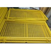 Wholesale Durable Powder Coated Steel Wire Fencing Panels With Frame Finishing from china suppliers