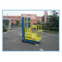 Quality 200kg Rated Load Aerial Order Picker Semi Electric 4.3m For One Person Stock for sale