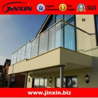 Wholesale Stainless steel glass balcony railing for fence designs from china suppliers
