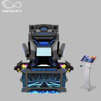 Wholesale 1 Seat Real Track VR Racing Simulator / 360 Degree Electric Motion  Car Racing Machine from china suppliers