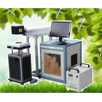 Wholesale CO2 laser marking machine for leather,paper,cloth ect nonmetal from china suppliers