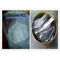 CAS 73-78-9 Lidocaine HCL Powder Regional Anesthetic For Local Pain Killer for sale