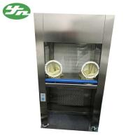 Closed Horizontal Laminar Clean Bench 220V 50HZ With Rubber Operating Gloves for sale