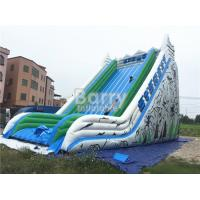 Wholesale Cliff Free Fall Kids Custom Giant Inflatable Slide Durable PVC Tarpaulin Material from china suppliers