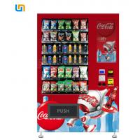Wholesale CE Rohs Snack Food Vending Machines With Cooling System And Multiple Payment 22''Touch Screen from china suppliers