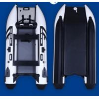 Wholesale 9.9HP High Racing dinghy leisure catamaran inflatable boat 3.3m full inflatable mat from china suppliers