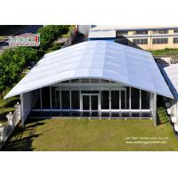 Wholesale Arch Large White Tent With Glass Wallss And Doors For Elegant multiply Outdoor Events from china suppliers