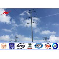 Wholesale 12M Galvanized Electric Power Pole Q345 Material for 110KV Transmission from china suppliers