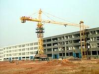 China Tower Crane Including Height Limiter, Weight Limit Max. Lifting capacity: 6ton for sale
