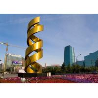 Wholesale Urban Decoration Painted Metal Sculpture DNA Shape Fashionable Design from china suppliers