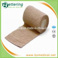 Wholesale Skin colour Non woven cohesive bandage coflex bandage from china suppliers