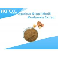 Quality Yellow Polysaccharides Powdered Herbal Extracts Agaricus Blazei Murrill Extract for sale