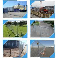 Buy cheap Building Site Temporary Fencing Panels , Temporary Event Fencing 32mm 38mm Frame Dia from wholesalers