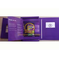 Wholesale Customized Windows 8.1 Pro License Key DVD Pack Software Full Version French Language from china suppliers