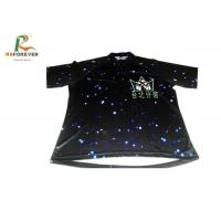 Wholesale Black 3D Sublimation Custom Printed T Shirts For Club Team 100 Percent Cotton from china suppliers