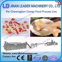 Wholesale Small scale chewing jams center pet food processing line from china suppliers