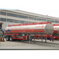 Wholesale Lightweight Aluminum Alloy Liquid Tank Trailers With 2 Axles 30400L High Volume from china suppliers